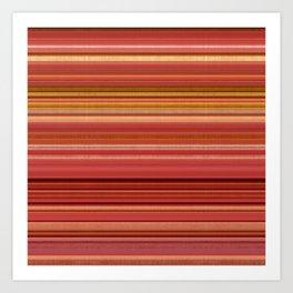 """""""Pink lines burlap"""" Art Print"""