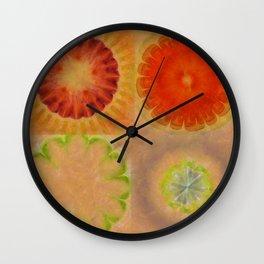 Nontransmittal Sense Flower  ID:16165-112135-50620 Wall Clock