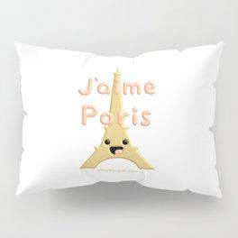 J'aime Paris Cute Eiffel Tower Pillow Sham