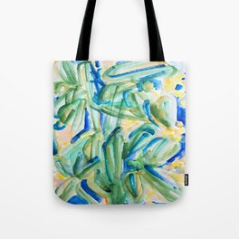 Tropical Plants Tote Bag