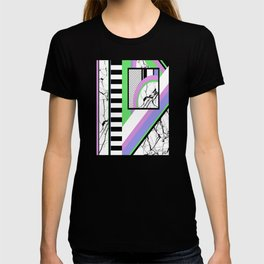 AMPS Deux - Abstract, Marble, Pastel, Stripes T-shirt