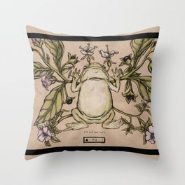 Sweetbrier Throw Pillow