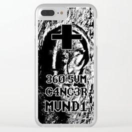 + 360 5VM C4NC3R MVND1 Clear iPhone Case