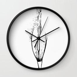 Vagina 1 Wall Clock