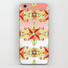 Pink Ombre Suzani iPhone & iPod Skin