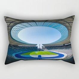 Olympiastadion Berlin Rectangular Pillow