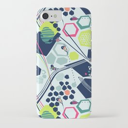 electric beehive iPhone Case