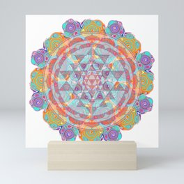 Serendipity Sri yantra Mini Art Print
