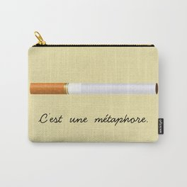 It's A Metaphor Carry-All Pouch