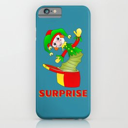 SURPRISE Jack in the Box iPhone Case