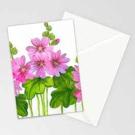 Field of mallows Stationery Cards