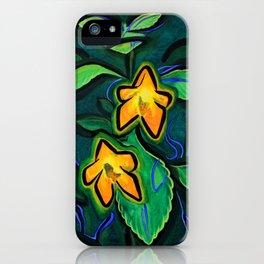 Orange Jewelweed 2.0 iPhone Case