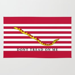 First Navy Jack of the United States of America flag Rug