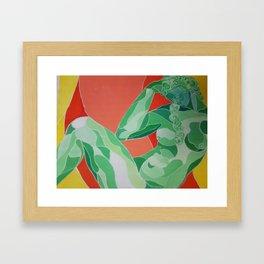 la noche  Framed Art Print