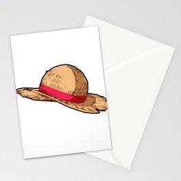 Luffy Straw Hat Stationery Cards