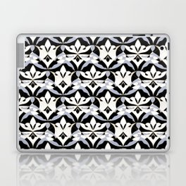 Interwoven XX - Black Laptop & iPad Skin