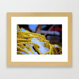 Cold Grip Framed Art Print