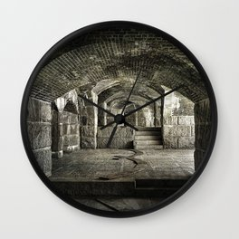 Casemate Carriage Wall Clock