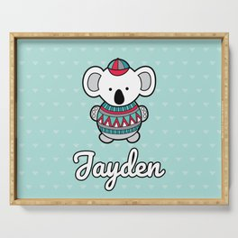 Custom Koala Jayden Serving Tray