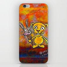 BUNNY CREAM iPhone & iPod Skin