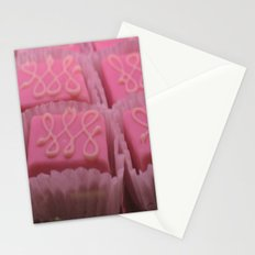 sweet candy pink  Stationery Cards