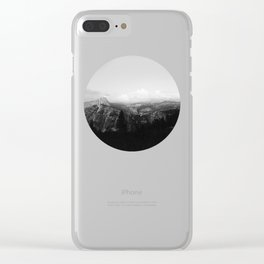 Yosemite x Glacier Point Clear iPhone Case