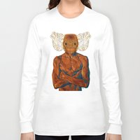 demon Long Sleeve T-shirts featuring Demon by Rofi