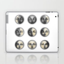 moon phases and romanticism Laptop & iPad Skin