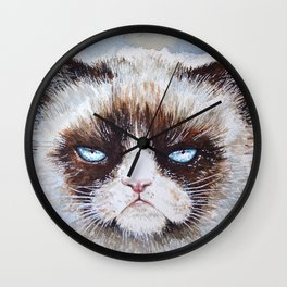 Tard the cat Wall Clock