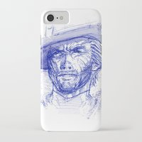 clint barton iPhone & iPod Cases featuring Clint by MOK designz