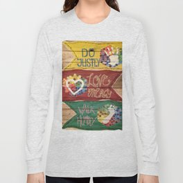 Do Justly Long Sleeve T-shirt