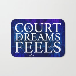 A Court of Dreams and Feels Bath Mat