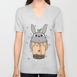 To-taro Bubble Tea Unisex V-Neck