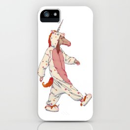 NOA THE UNICORN...? iPhone Case