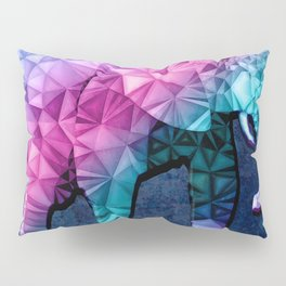 abstract elephant Pillow Sham