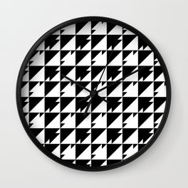 Triangle Dash Wall Clock