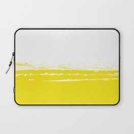 Solid Color Blocks - Sunny Yellow Laptop Sleeve