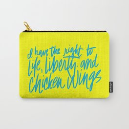 Life, Liberty, & Chicken Wings Carry-All Pouch