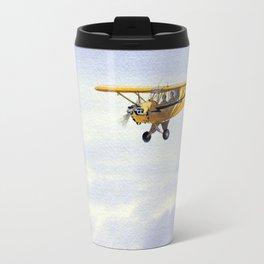 J-3 Piper Cub Aircraft Travel Mug