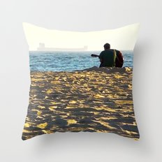 Play Us A Song Throw Pillow