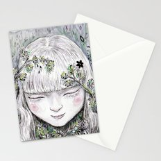Mother Earth was a child once Stationery Cards