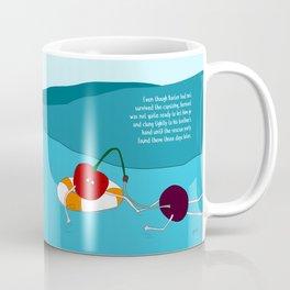 same beginning, different ending. Coffee Mug