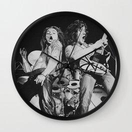 David and Eddie Wall Clock