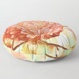 Floral Delight Floor Pillow