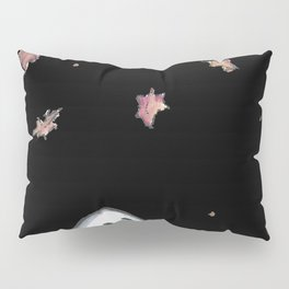 Ghost in falling leaves Pillow Sham