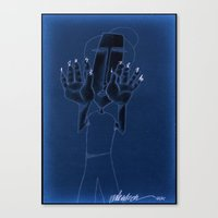 numbers Canvas Prints featuring numbers... by matzenbacher