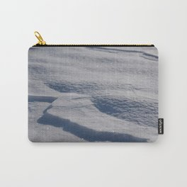 Sparkling Snow Carry-All Pouch