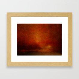 Caligo Framed Art Print