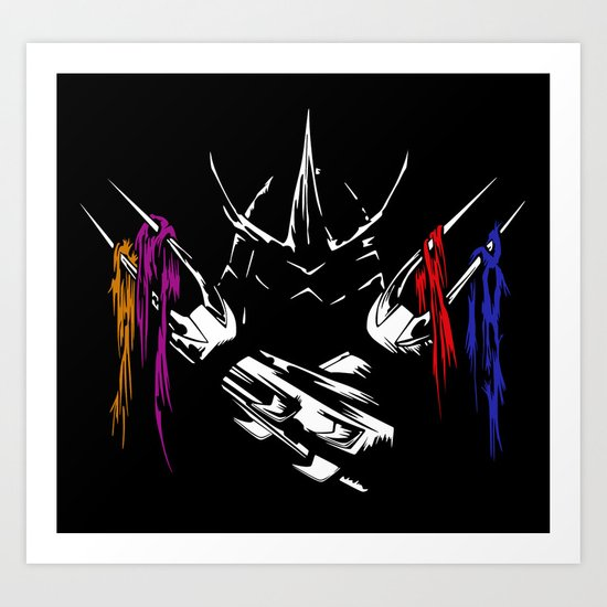 Shredder - Teenage Mutant Ninja Turtles Art Print