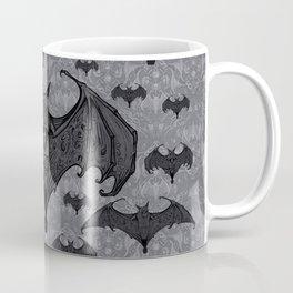 Balinese Bat - Haunted Mansion Damask Coffee Mug